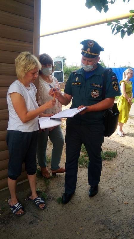 О правилах пожарной безопасности напомнили жителям посёлка Ракитное
